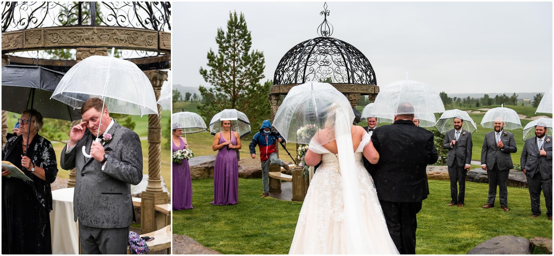 Blue Devil Golf Course Wedding Ceremony Photographers
