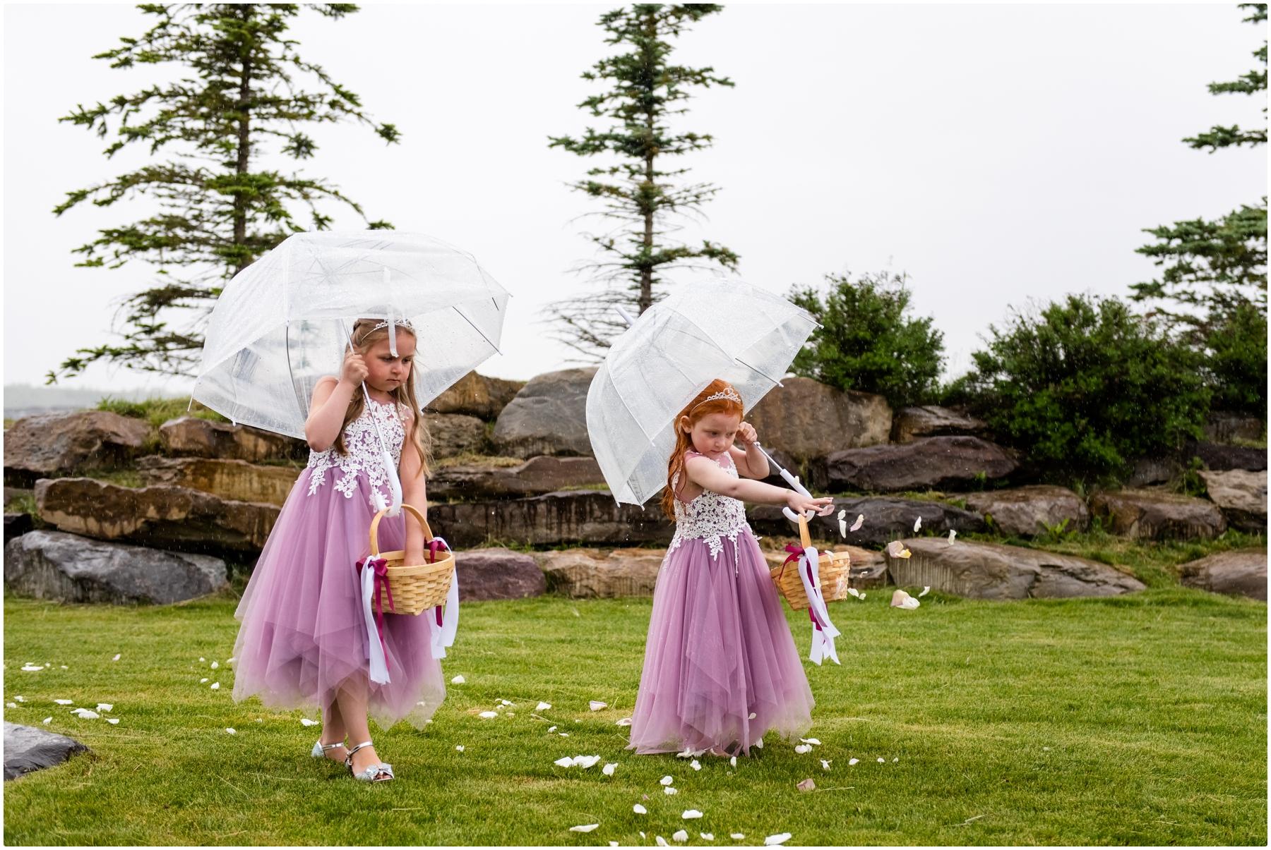 Blue Devil Golf Course Wedding Ceremony Photos
