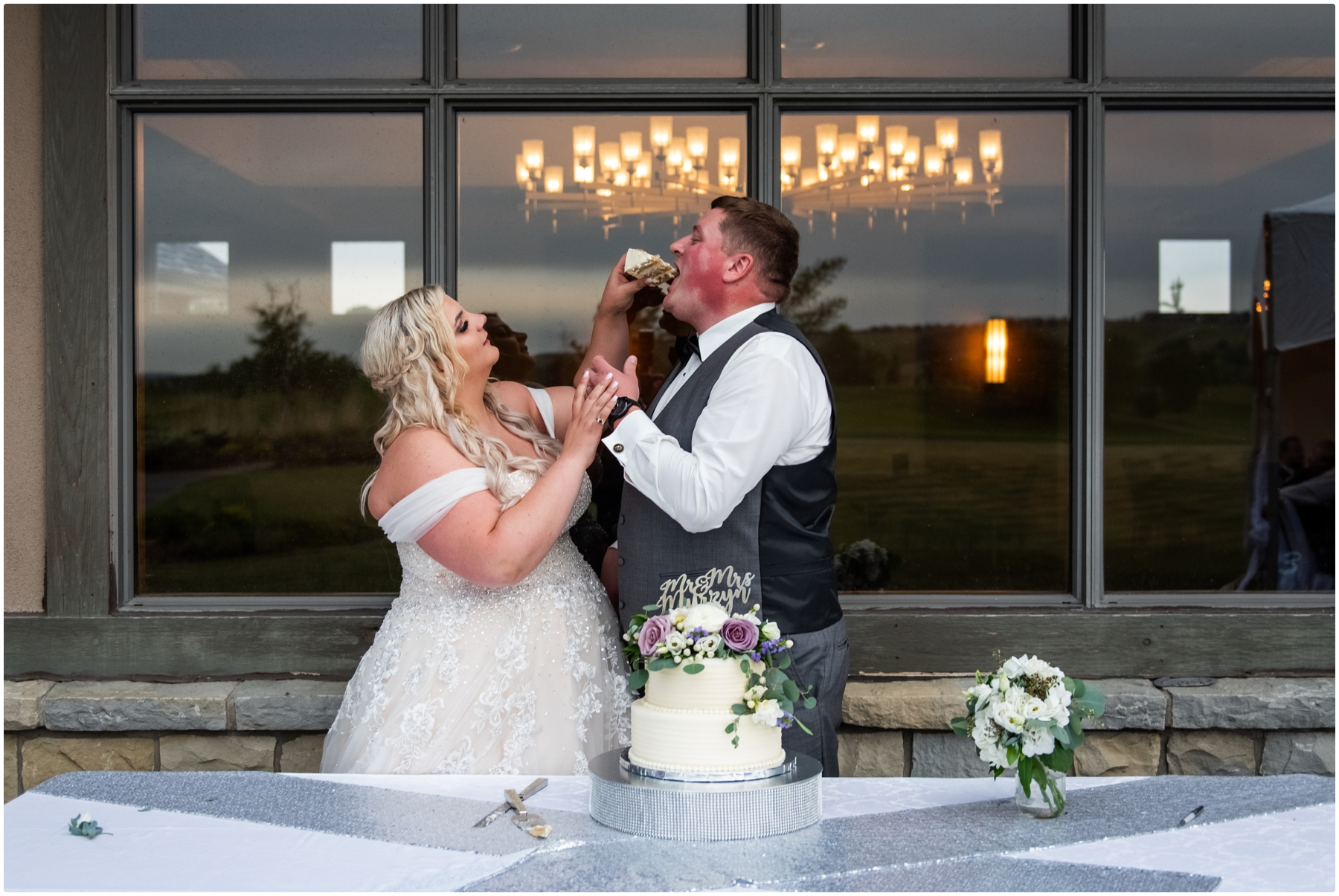 Blue Devil Golf Course Wedding Reception Photos