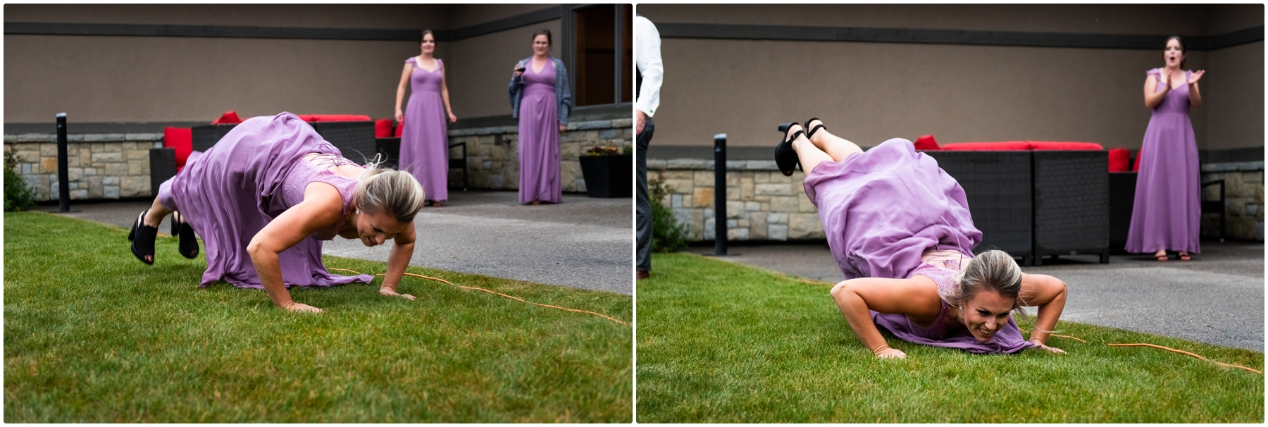 Calgary Blue Devil Golf Course Wedding Reception Photographer