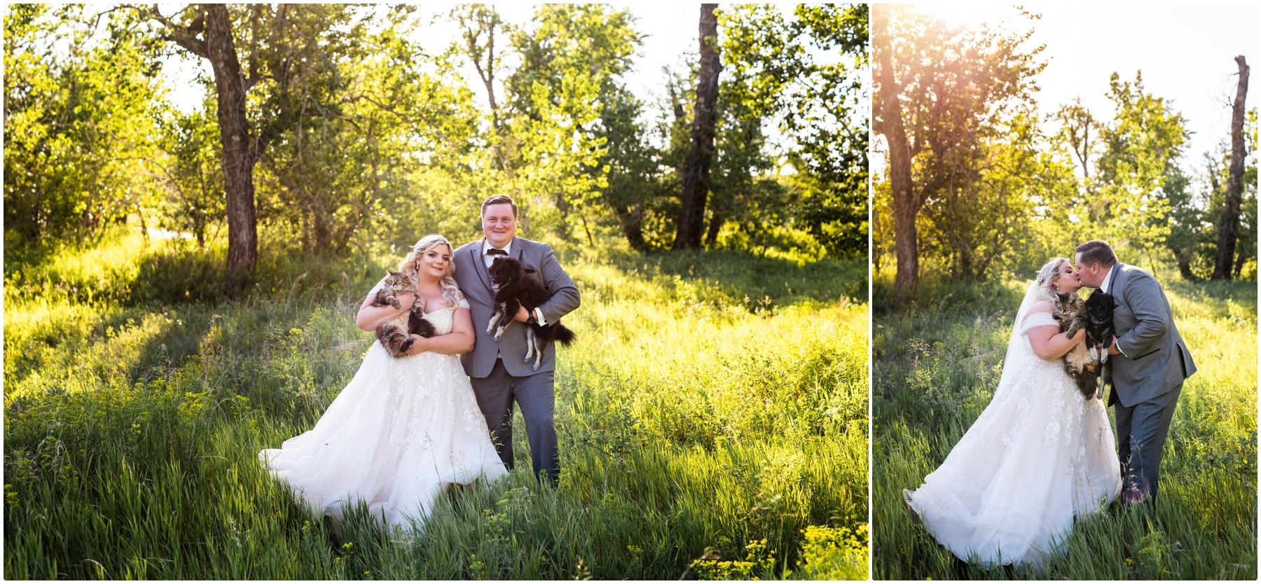 Calgary Blue Devil Golf Course Wedding Reception Photographers