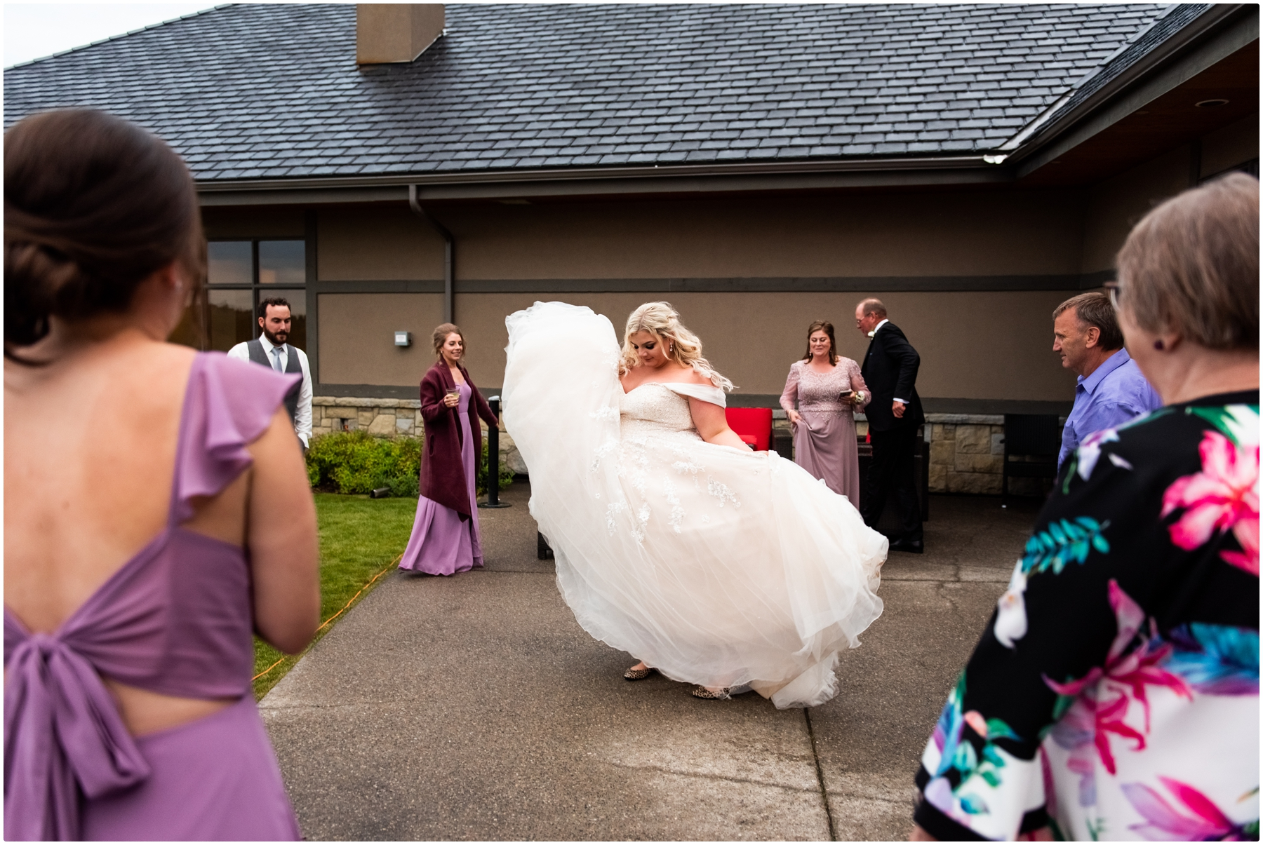 Calgary Blue Devil Golf Course Wedding Reception Photography