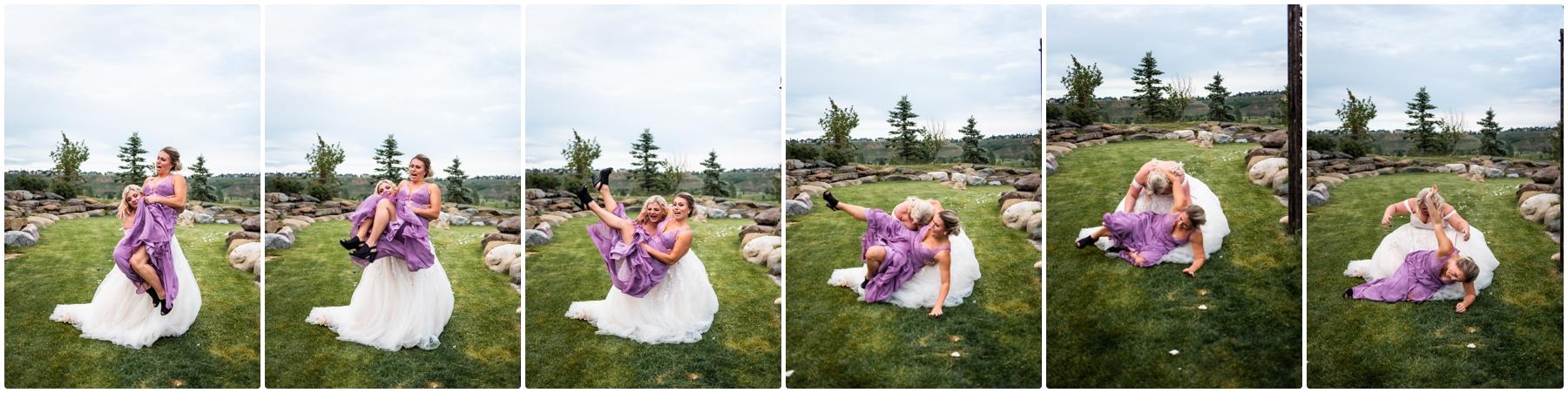 Calgary Blue Devil Golf Course Wedding Reception Photos