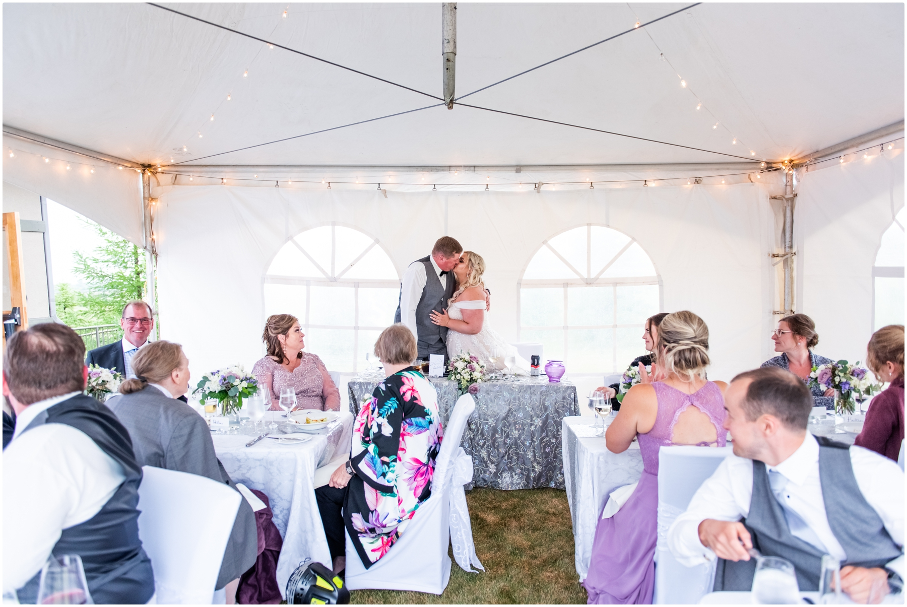 Calgary Blue Devil Tent Wedding Venue
