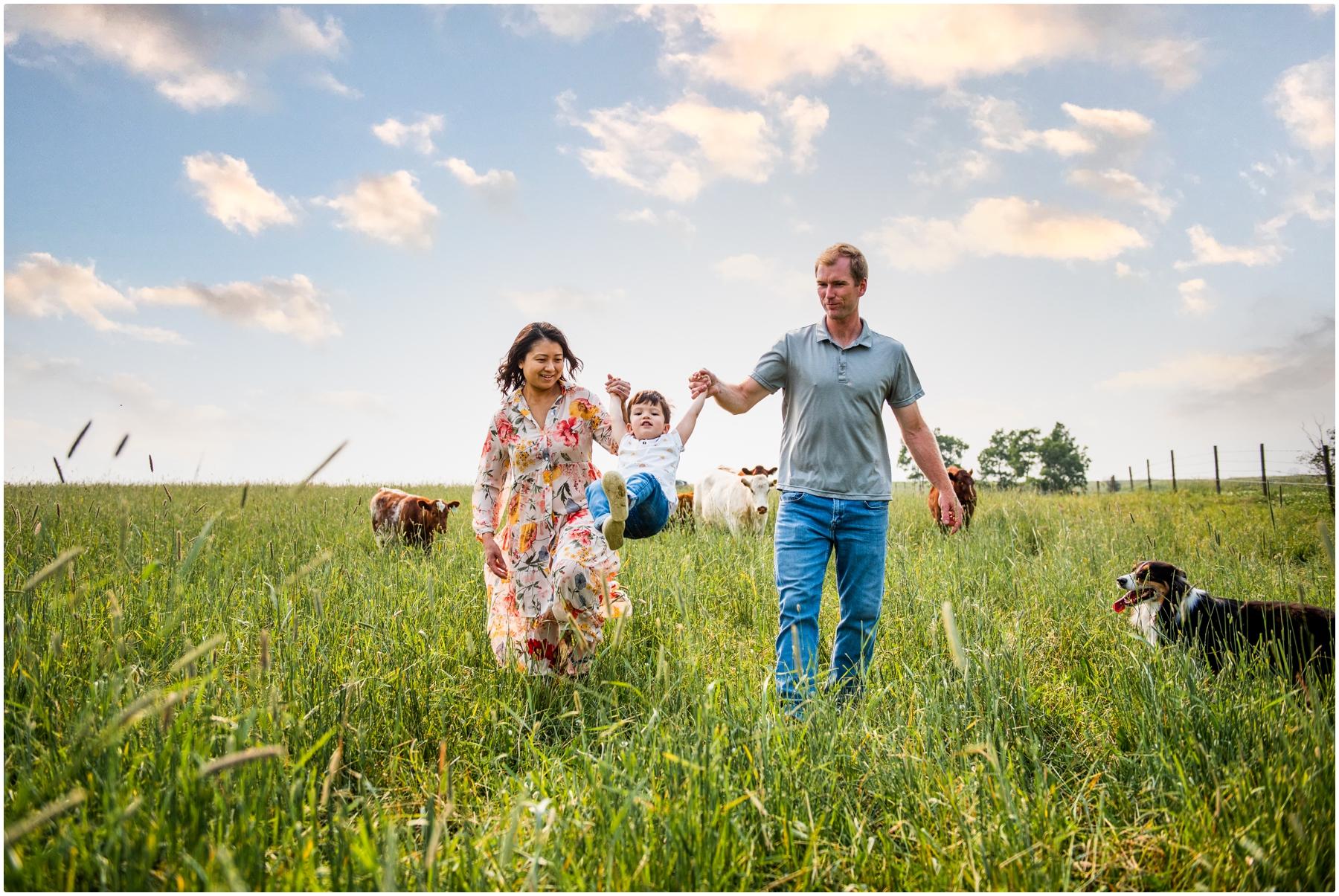 Calgary Farm Family Photographers