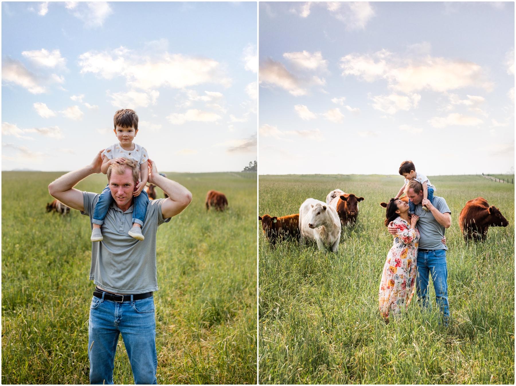 Calgary Farm Family Photography