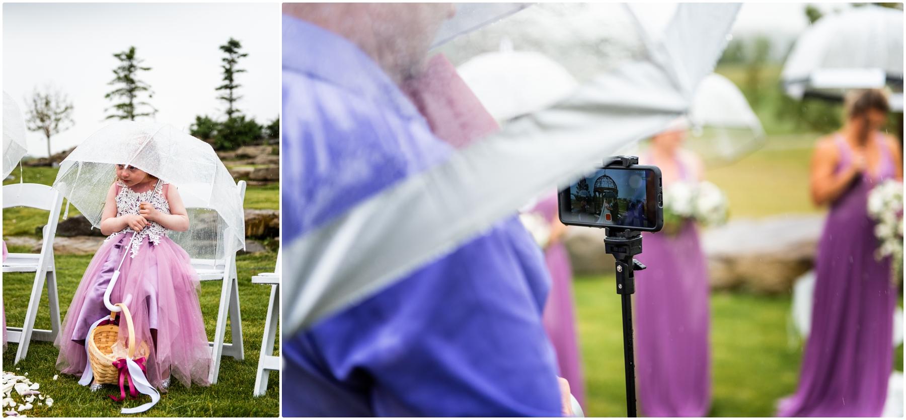 Calgary Golf Course Wedding Photography