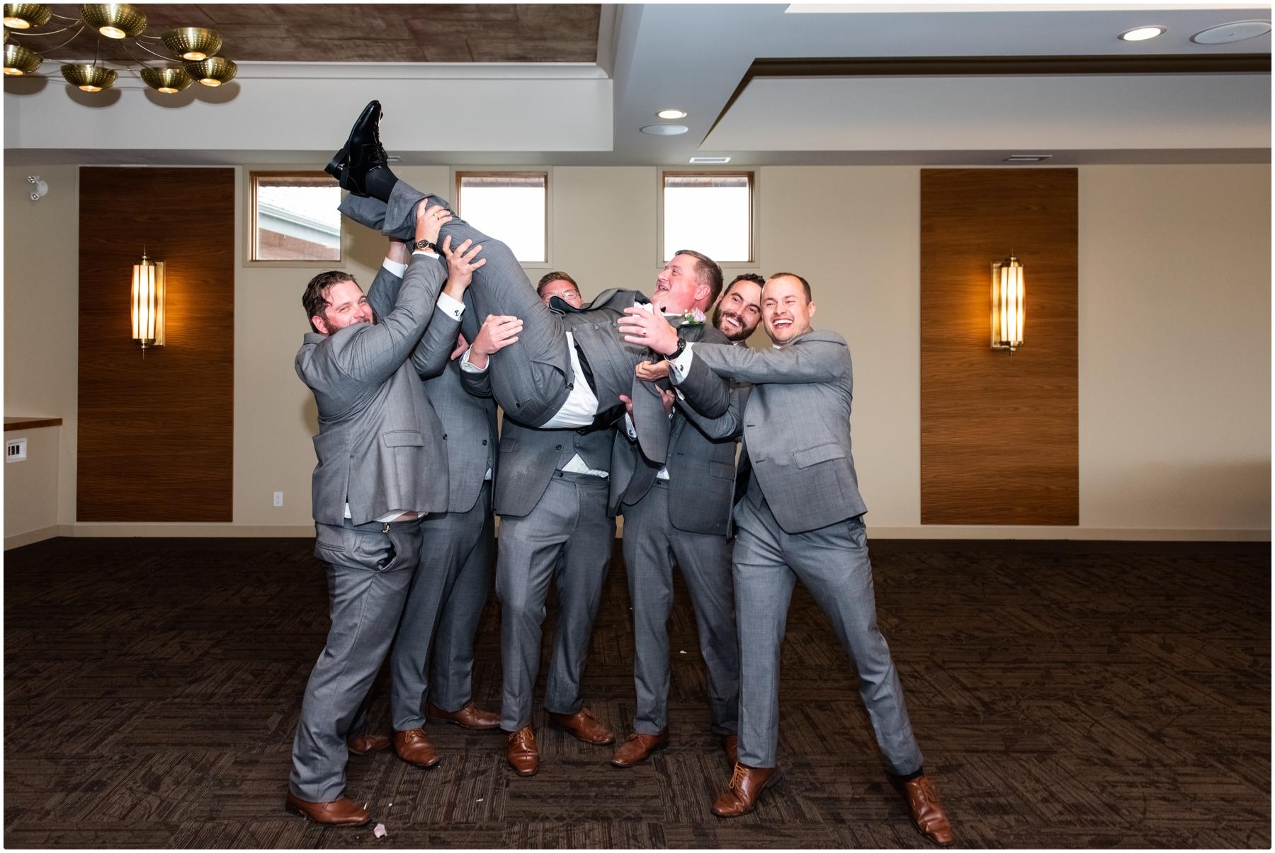 Calgary Golf Course Wedding Venue - Wedding Party Photographer