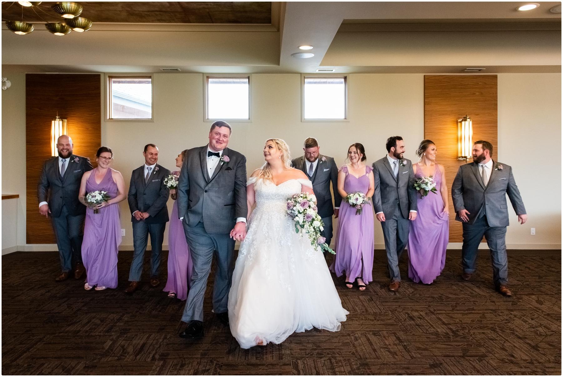 Calgary Golf Course Wedding Venue - Wedding Party Photography
