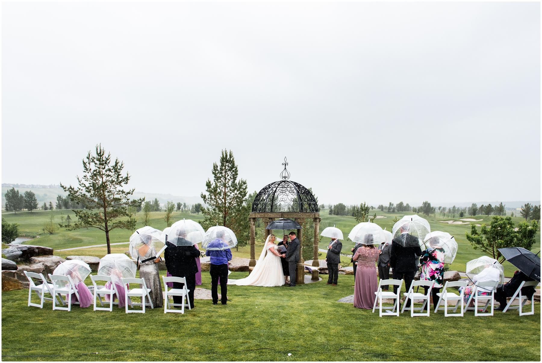 Calgary Golf Course Wedding