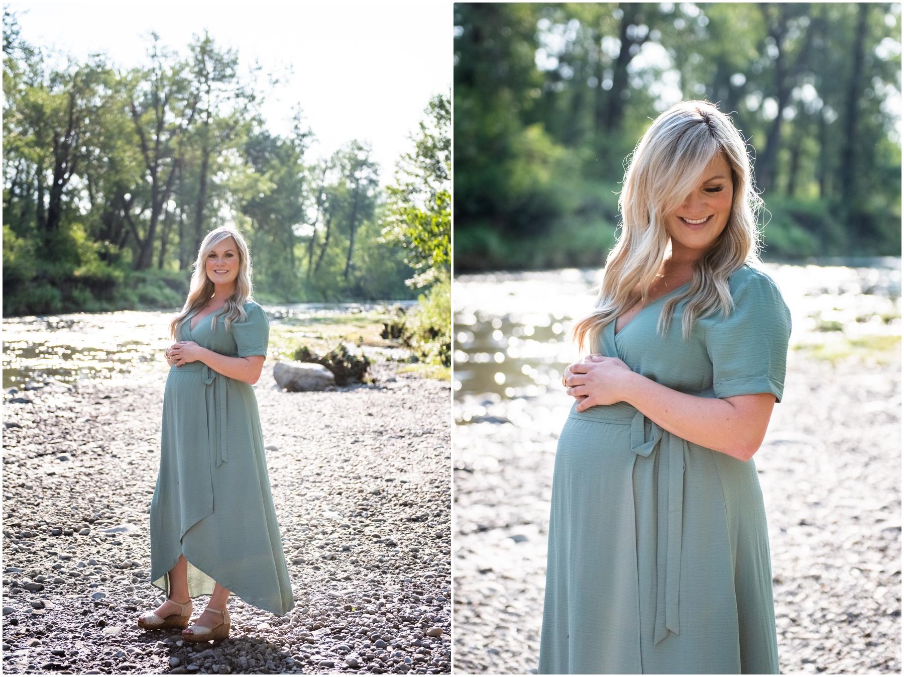 Calgary Summer Maternity & Newborn Photographer