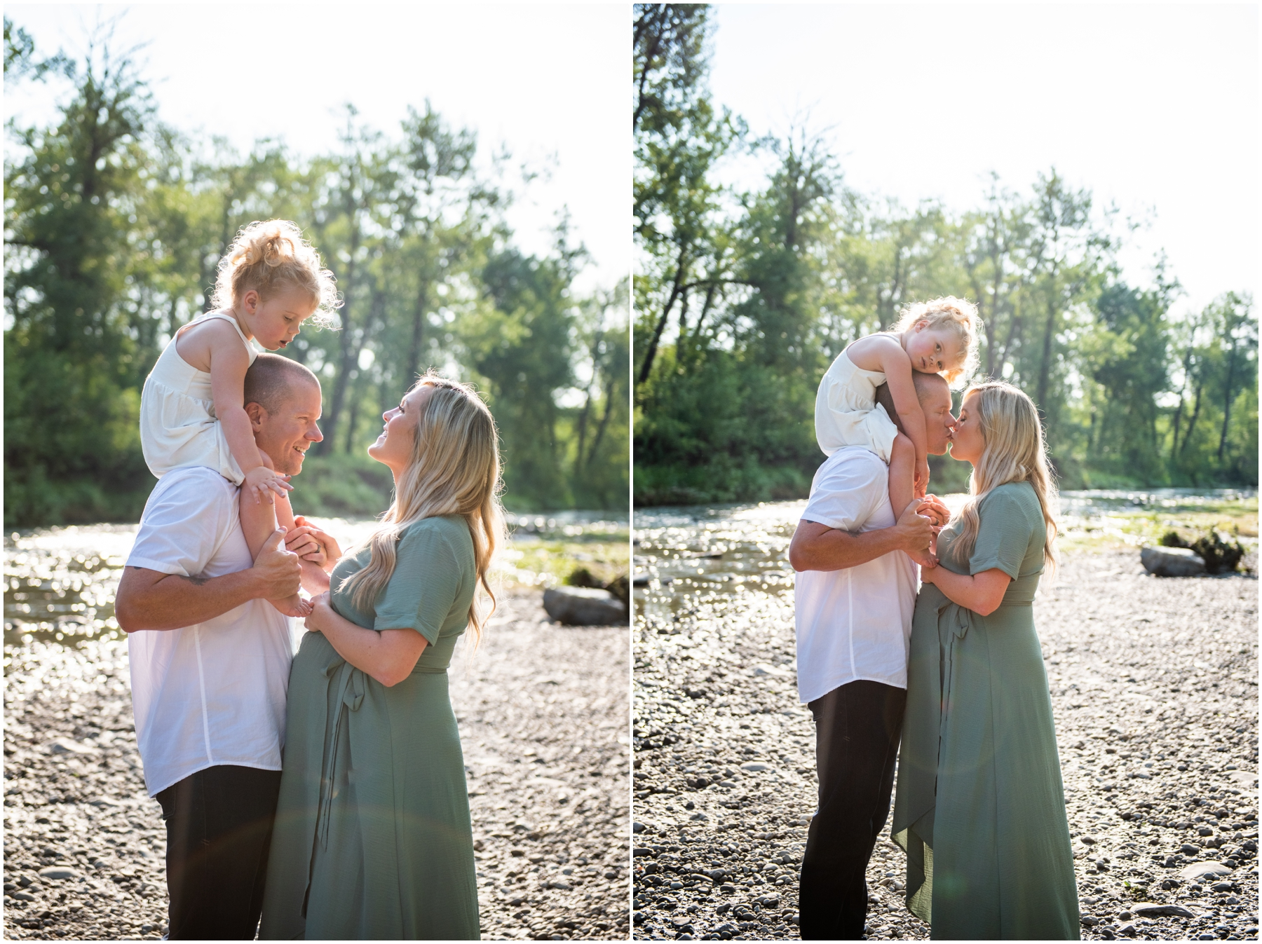 Calgary Summer Maternity & Newborn Photography