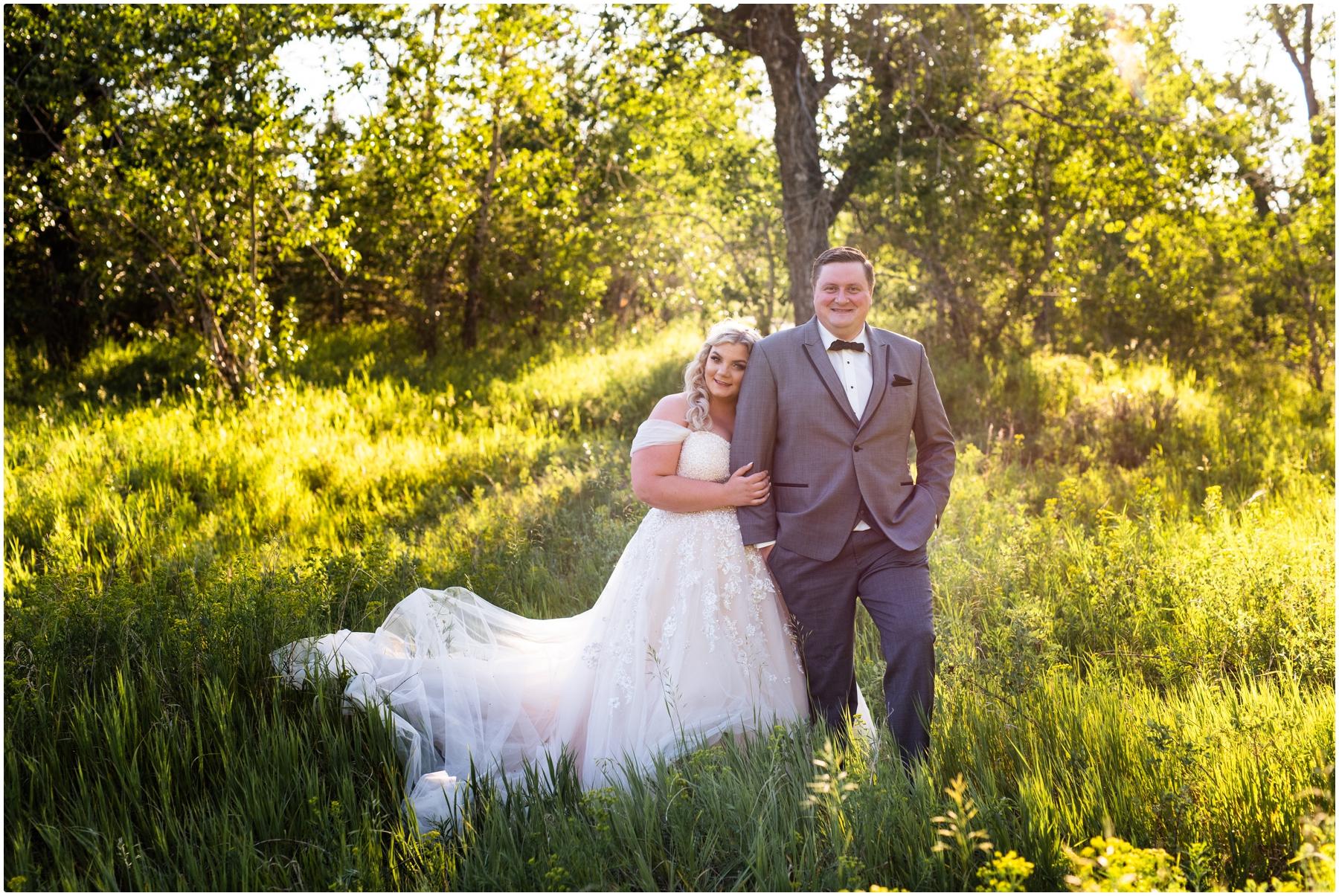 Calgary Sunset Wedding Photography