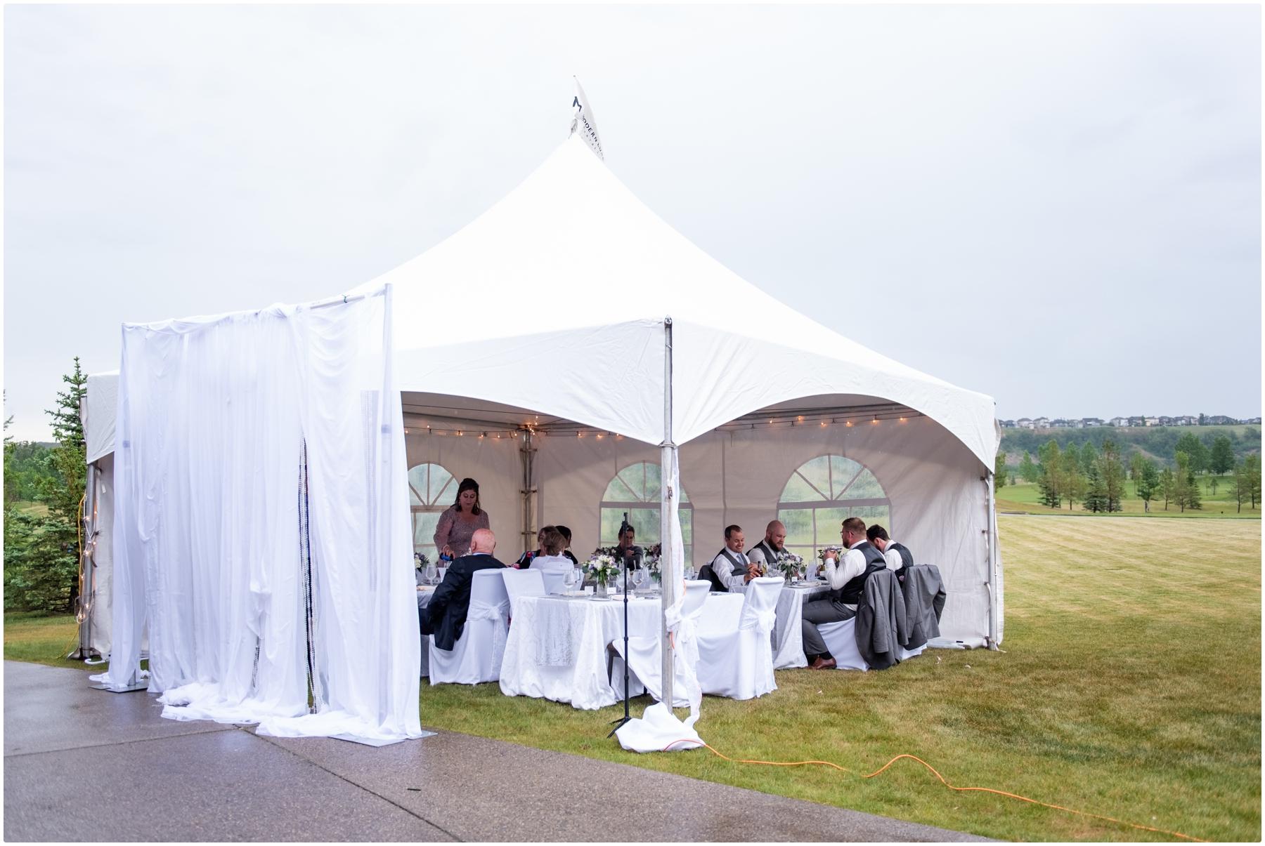 Calgary Tent Wedding Venue