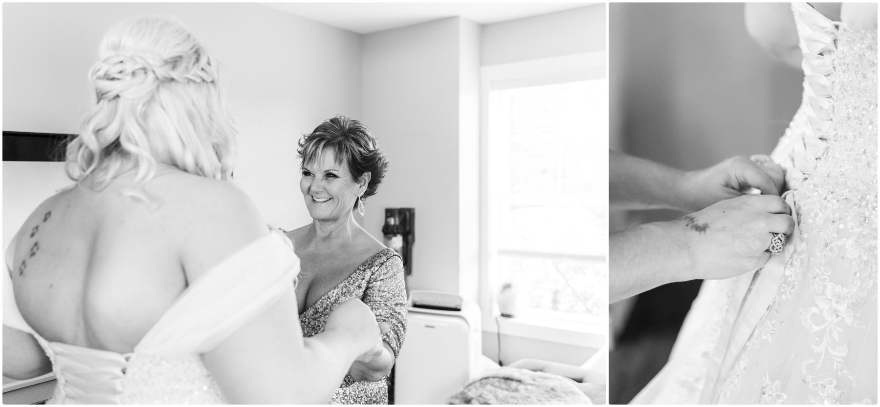 Getting Ready Photographer -Blue Devil Golf Course Wedding