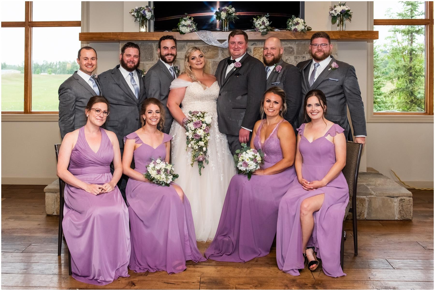 Golf Course Wedding Venue - Wedding Party Photos