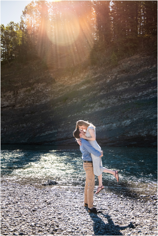 Kananaskis Engagement Photographer - Allen Bill Kananaskis