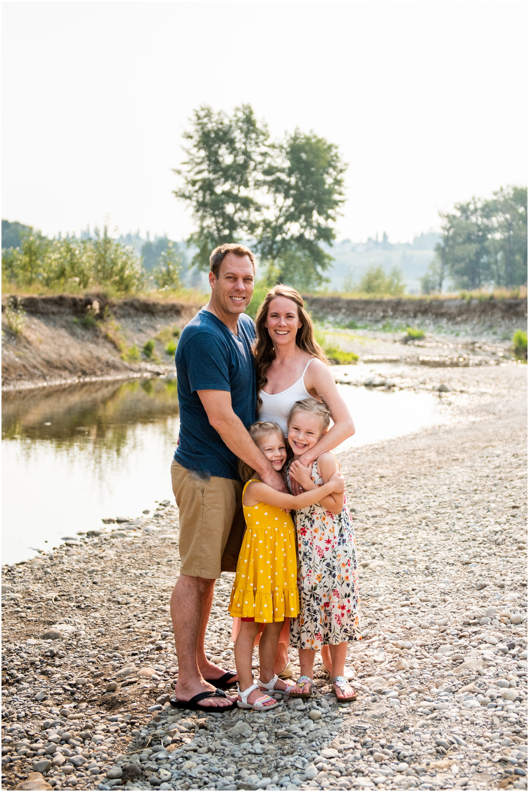 Calgary Fish Creek Family Photography Session