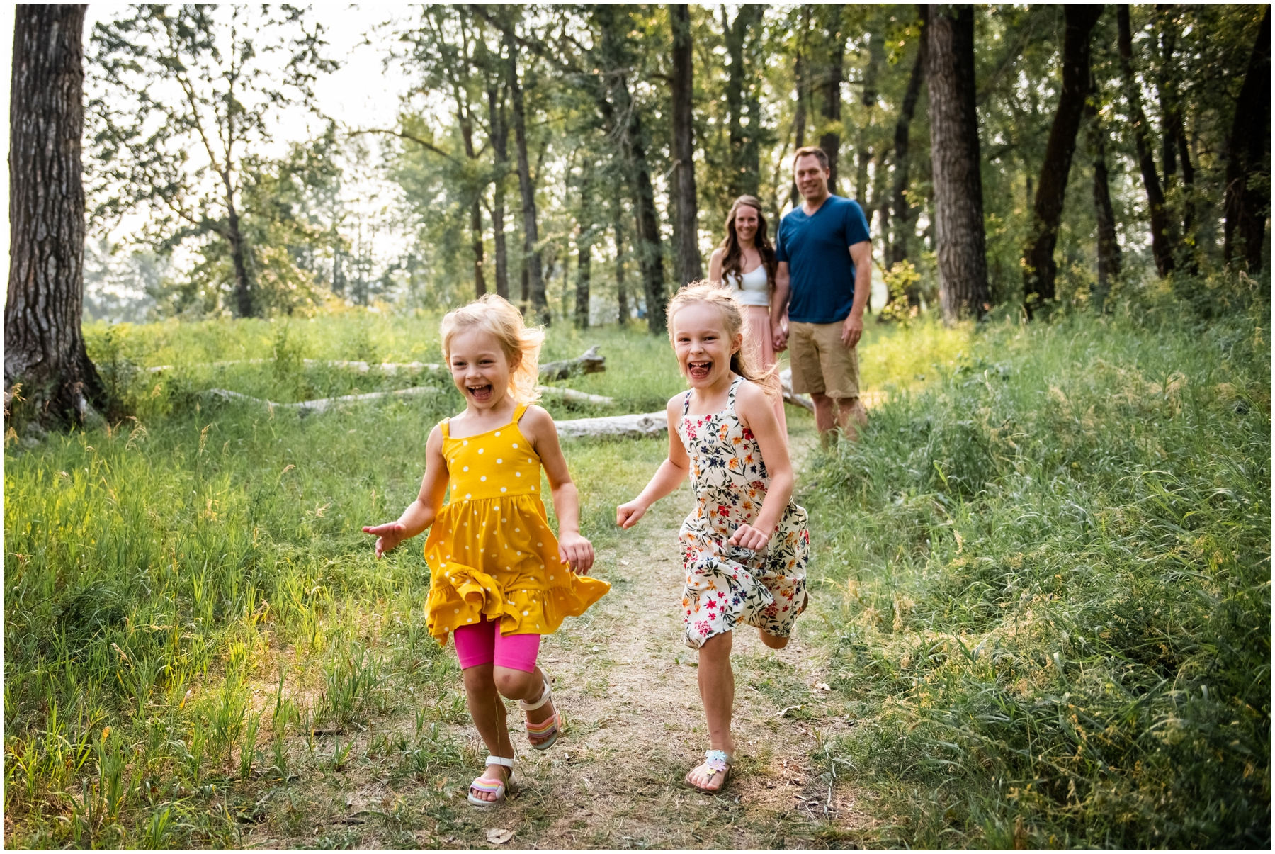 Calgary Fish Creek Park Family Photographers