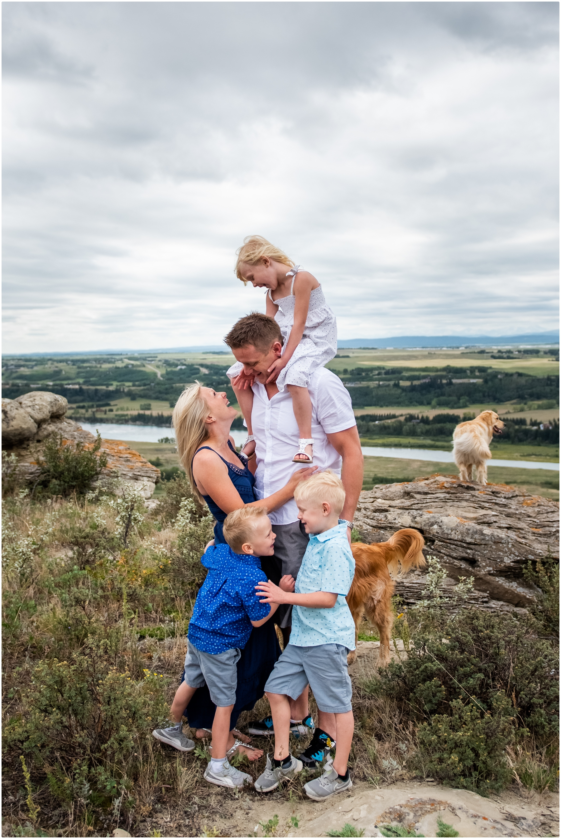 Cochrane Acreage Family Photographer