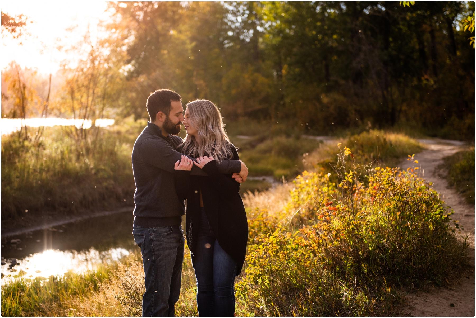 Calgary Sunset Engagement Photography